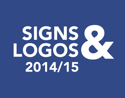 Signs & Logos from 2014/ 15