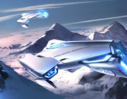 SPACESHIPS AND SNOW