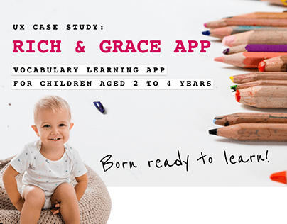 UX Case Study: Rich & Grace - Vocabulary Learning App
