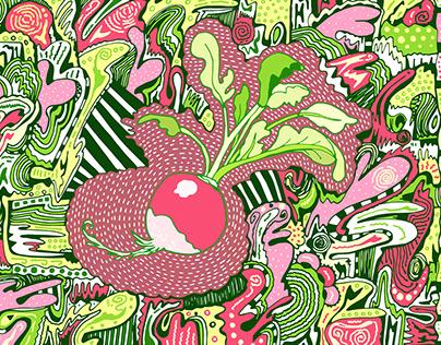 Vegetables-art