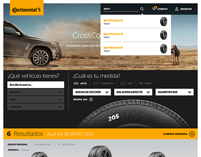 Continental Tire Shop Online