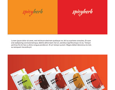 Brand Identity for Spicy Herb