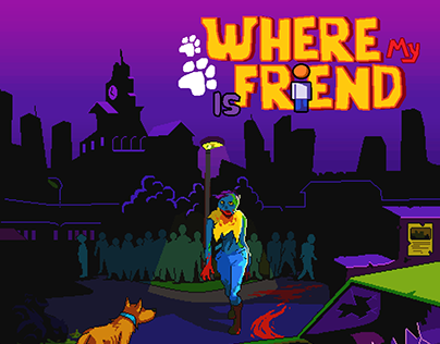WHERE MY FRIEND IS - PROTOTYPE GAME