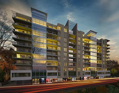 G+10 Apartment in Dubai.