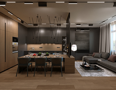 Project L7 Apartment in Kyiv