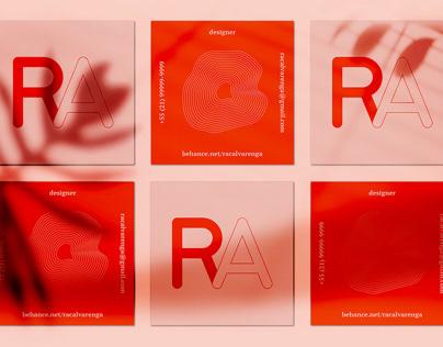 Rachel Alvarenga / Self branding
