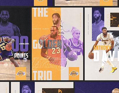 Lakers   Poster Designs
