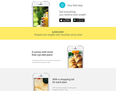Your App - Free WordPress Template