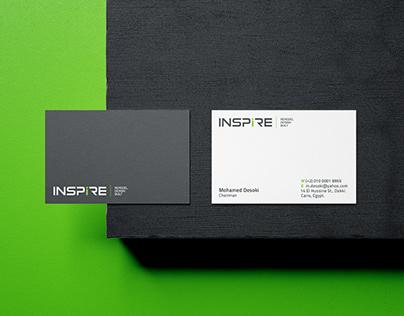 Inspire Logo & Stationery
