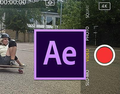 iPhone Camera UI: Free AE project