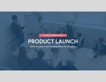 Product Launch Deck by Slideck