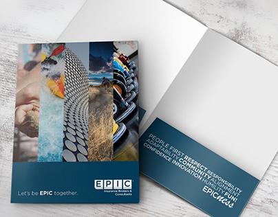 Folder Design for EPIC Insurance & Patient Discharge