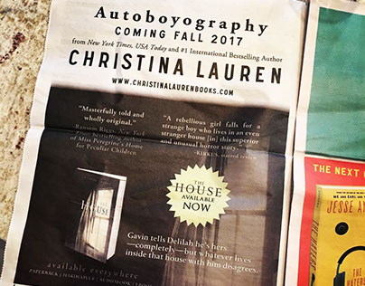 YallWest Ad for Christina Lauren