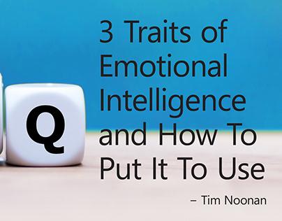 3 Traits of Emotional Intelligence