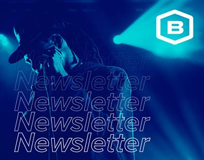 Newsletter Eventos Boletia