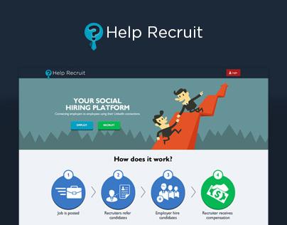 Help Recruit | UI/UX Design