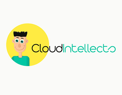 Logotype and landing (+adaptive) for CloudIntellects