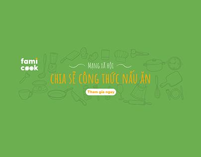 Famicook - おいしいレシピを共有するための料理ソーシャルネットワーク