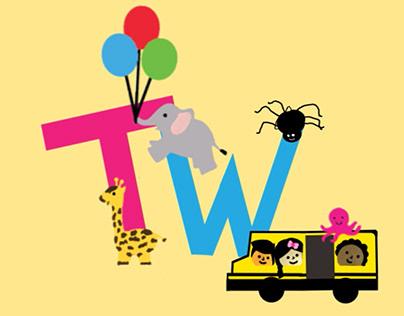 Toddler's Tv Program Tittle Animation