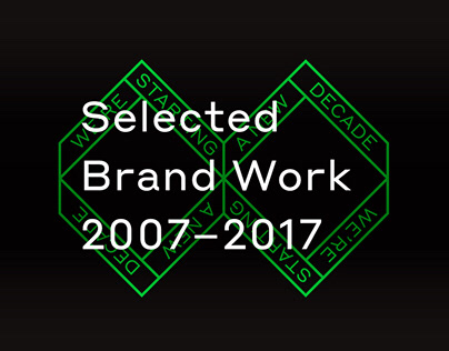 Selected Brand Work 2007 — 2017