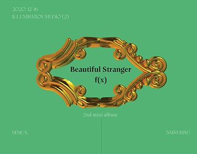 F(X) 2nd Mini Album : Beautiful Stranger