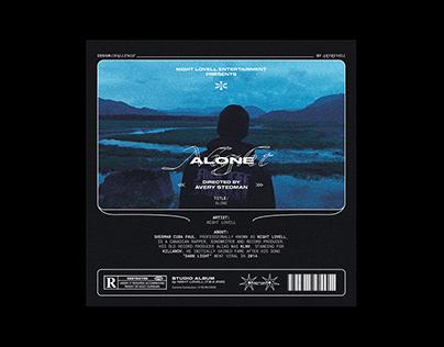 Alone by Night Lovell - Album Artwork