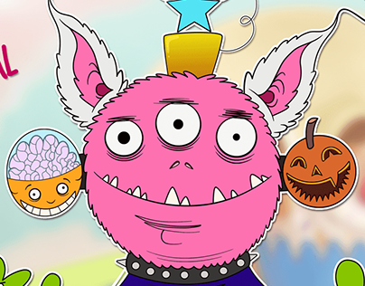 Monstruo Mr Huevo de Pascua para themonsterproject.org
