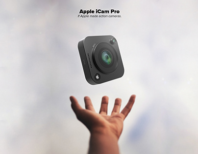 The iCam Pro - what if Apple made an action camera ?