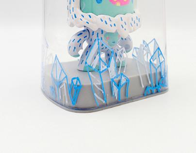 Face-changing Yeti Custom Toy