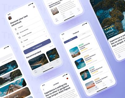 Travel App Design Concept