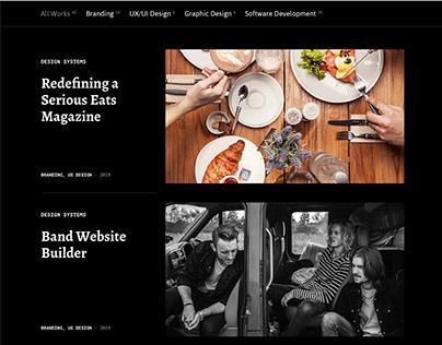 Lighthouse: Agency / Portfolio Website Template