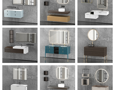 Bathroom Furnitures (Free models)