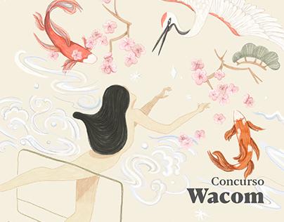 Ilustración Wacom