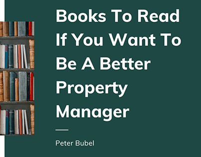 Books For Being A Better Property Manager