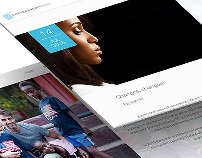 Extraordinary Movers - Website & Application Design