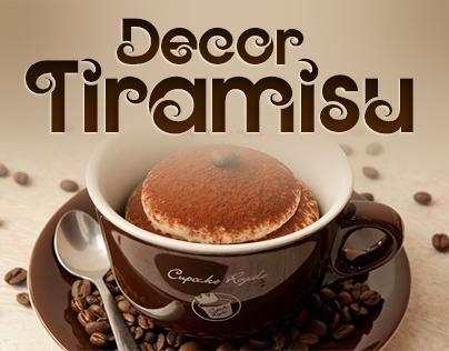 Font Tiramisu-Decor