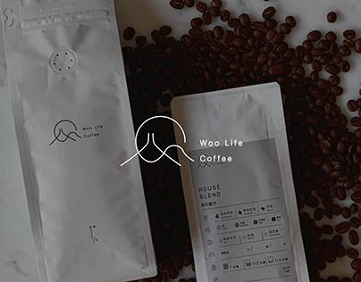 VI|Woo Life Coffee -Coffee Bean Bag