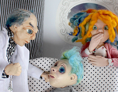 Art dolls sculpture