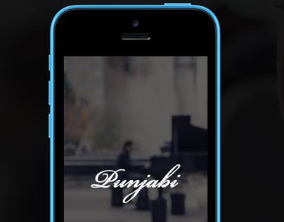 Punjabi App Landing theme