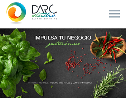 Darc Studio - Web design