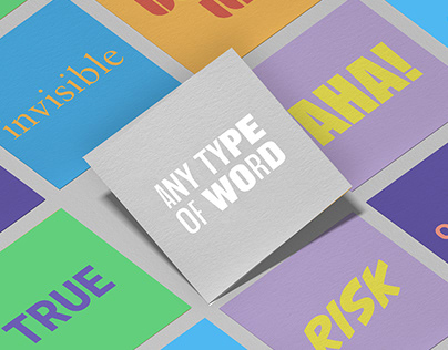Any Type of Word // An Innovative Dictionary