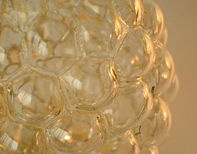 Декоративная ваза. Стекло