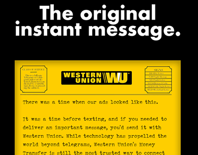 Western Union - Delivering the Most Important Messages.