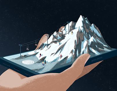 Ski the Internet