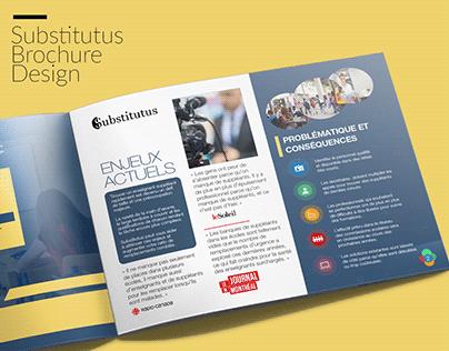 Substitutus Brochure Design