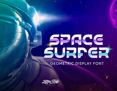 SpaceSurfer Display Font