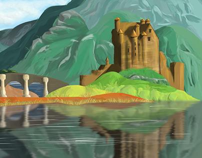 Midterm project eilean donan castle