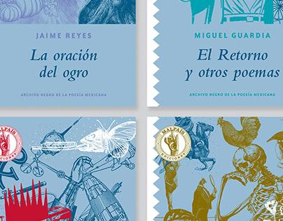 Colección Archivo Negro de la Poesía Mexicana Serie 1