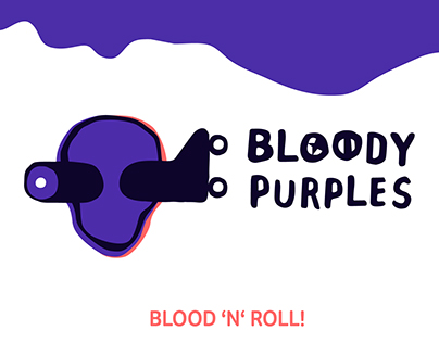 Bloody Purples // Roller Derby Berlin