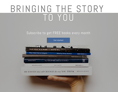 """TheBookClub"" - online book club website"
